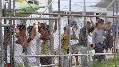 Manus Island detention center in Papua New Guinea (AAP)