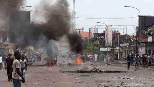 Ethnic clashes in Kasai province in Democratic Republic of Congo (DRC) (AP)