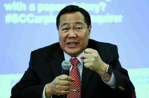 Philippines Supreme Court justice Antonio Carpio says that the government must confront China now. Carpio helped the Philippines win the Hague Tribunal ruling that declared illegal China's activities in the South China Sea