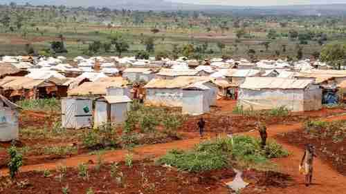 Nyarugusu refugee camp in Tanzania. Over 400,000 people have fled to other countries to escape the Burundi government violence (MSF)