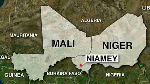 Ambush of US soldiers occurred near Niamey, the capital city of Niger