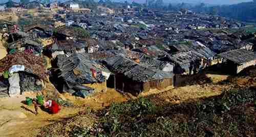 Rohingya refugee camp in Bangladesh (Rohingya Vision TV)