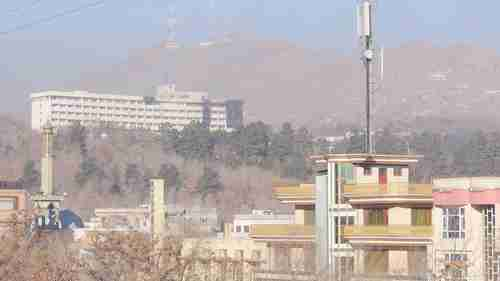 The enormous Kabul Intercontinental Hotel that was under attack for 16 hours this weekend (Tolo News)