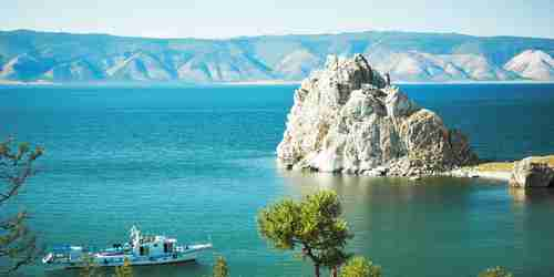 Russia's Lake Baikal in Siberia. Like regions in the South China Sea, India and Central Asia, the Chinese are claiming that it's their sovereign territory