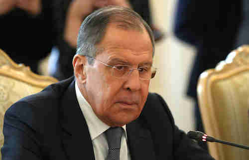 Russia's foreign minister Sergei Lavrov (Tass)