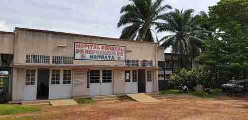 Hospital in Mbandaka, DRC, where Ebola patients will be treated (WHO)