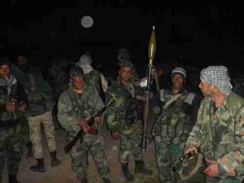 March 2017: Syrian troops advancing overnight in Hama (Al-Masdar)