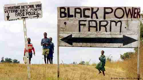 Zimbabwe Black Power Farm. Starting in 2000, Zimbabwe's government confiscated thousands of white-owned farms without compensation, leading to economic disaster. (AFP)