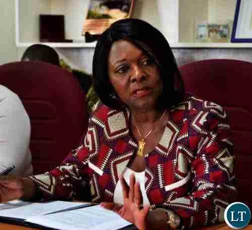 Zambia's finance minister, Margaret Mwanakatwe (Lusaka Times)