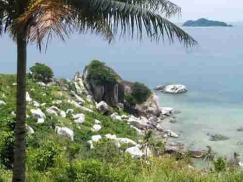 Senoa Island, in Indonesia's Natuna island chain