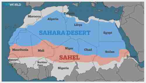 France has peacekeeping troops in five Sahel nations -- Mali, Mauritania, Burkina Faso, Niger and Chad (TRT World)