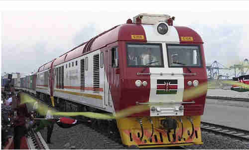 Madaraka Express railway launch in Nairobi, Kenya, on Wednesday