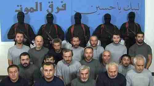 The 26 men from the Qatari hunting party that were kidnapped in December 2015 and returned in April 2017 for a $1 billion random payment
