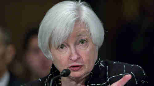 Fed Chairman Janet Yellen