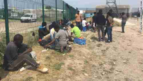 Migrants are continuing to arrive in Calais, despite the closure of the Jungle camp nine months ago. (CNN)