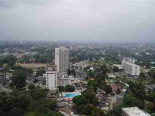 Kinshasa, the capital city of Democratic Republic of Congo, has benefited enormously from carbon emissions