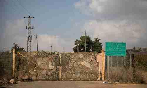 Lebanon-Israel border