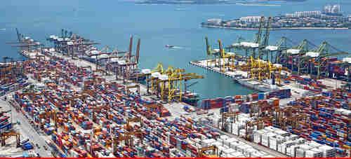 China-built Gwadar port in Pakistan