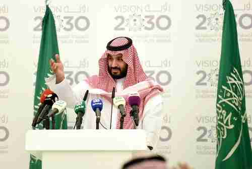 Saudi Arabia's 32-year-old Crown Prince Mohammed bin Salman (AFP)