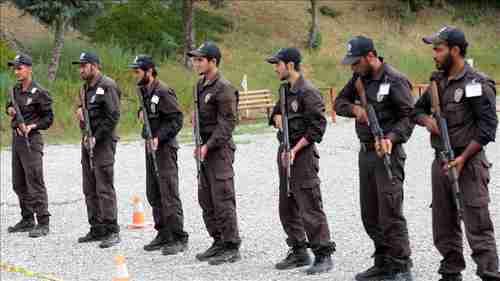 Syrian police trainees in Turkey (Anadolu)