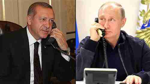 Erdogan and Putin have phone call last week to discuss situation in Idlib