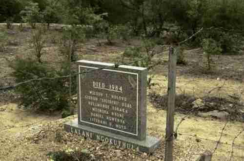 Operation Gukurahundi grave from 1984 (bulawayo24.com)