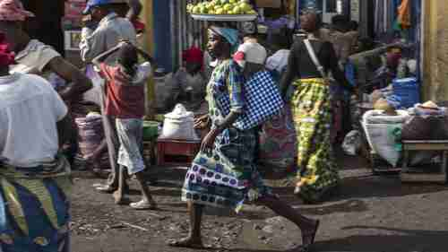 The city of Goma in DR Congo remains Ebola-free so far (AFP)