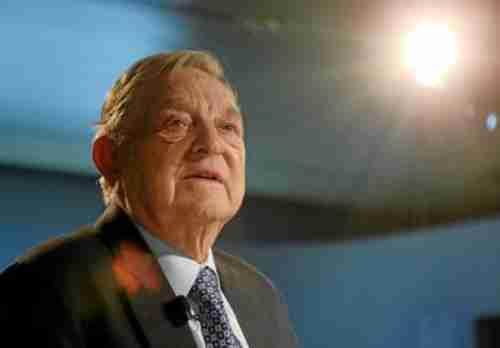 George Soros last week at World Economic Forum (WEF)